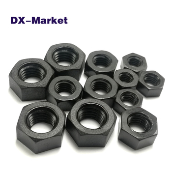 M3 m4 m5 m6 m8 m10 nylon nut kit , PA66 black nylon hexagon nut , plastic fasteners 11048