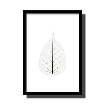 Plant Leaves Canvas Print No Frame Picture Nordic Wall Drawing Decorative Art Poster Beautiful Canvas Painting for Living Room 19335