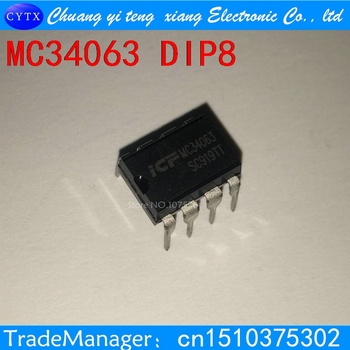 20PCS MC34063API MC34063 34063 DIP8 DIP Boost or buck DC/DC converter 24457