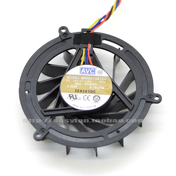 NEW AVC FOR DELL Studio 1909 CPU Y888K BN06015B12H cooling fan