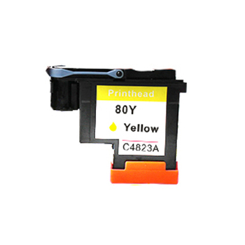Einkshop 1Pcs compatible Yellow Printhead For HP 80 Designjet 1000 1050c 1055cm Printer CA4820A 55517