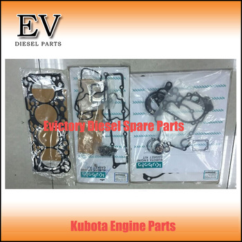 Genuine Bobcat Excavator V3307T V3307 full gasket kit (cylinder head gasket valve oil seal,crankshaft oil seal etc) 86595
