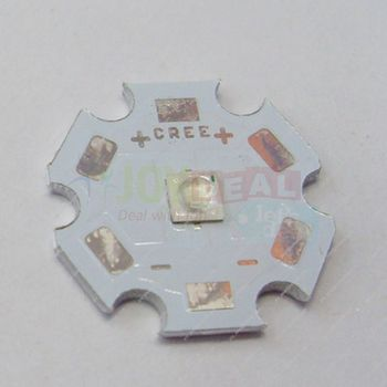 10VNT EPILEDS 3W 3535 Cyan 490NM-495NM High Power LED Granulių Spinduolis su 20mm Platine Heatsink 87215